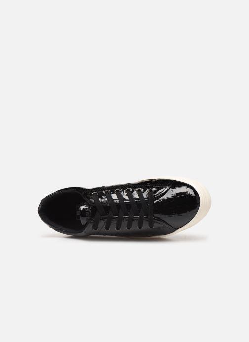 Baskets No Name Plato Sneaker Print Croco Noir vue gauche