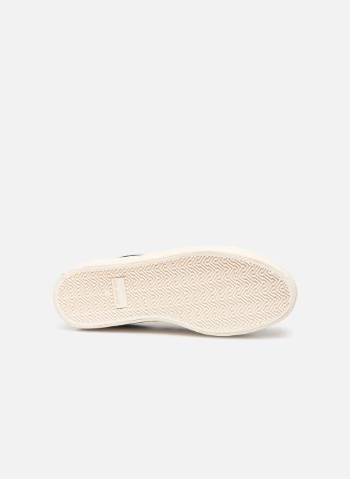Baskets No Name Plato Sneaker Print Croco Noir vue haut