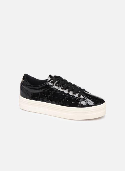 Baskets No Name Plato Sneaker Print Croco Noir vue détail/paire