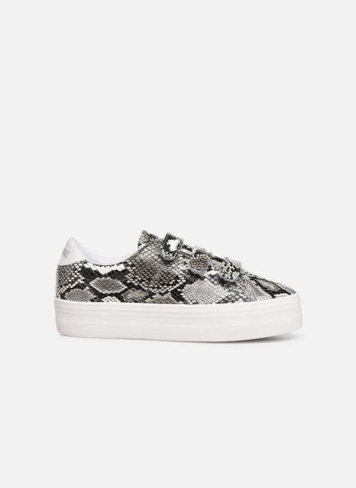 Sneakers No Name Plato Straps Print Kobra Grijs achterkant