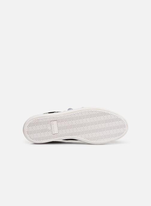 Sneakers No Name Plato Straps Print Kobra Grijs boven