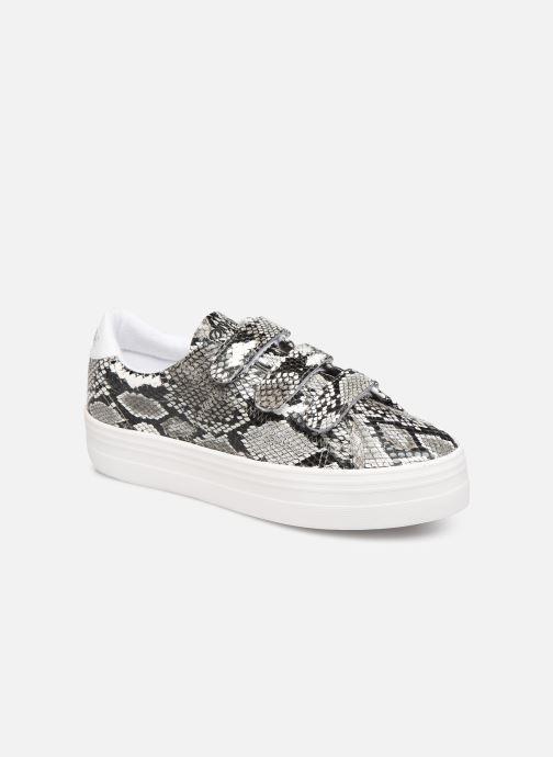 Sneakers No Name Plato M Straps Print Kobra Grigio vedi dettaglio/paio
