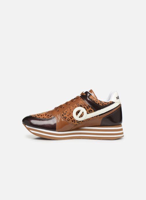 Sneakers No Name Parko Jogger Krater/Jane Bruin voorkant