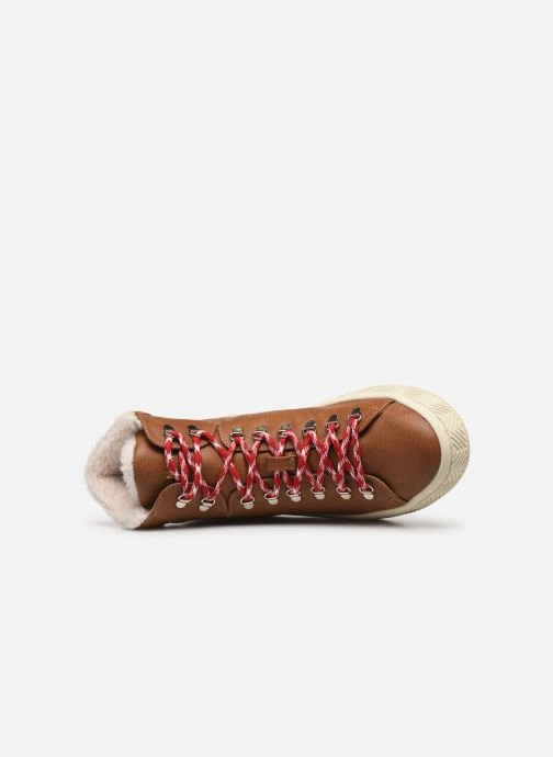 Chaussures de sport No Name Ginger Mid Soft Grain Marron vue gauche