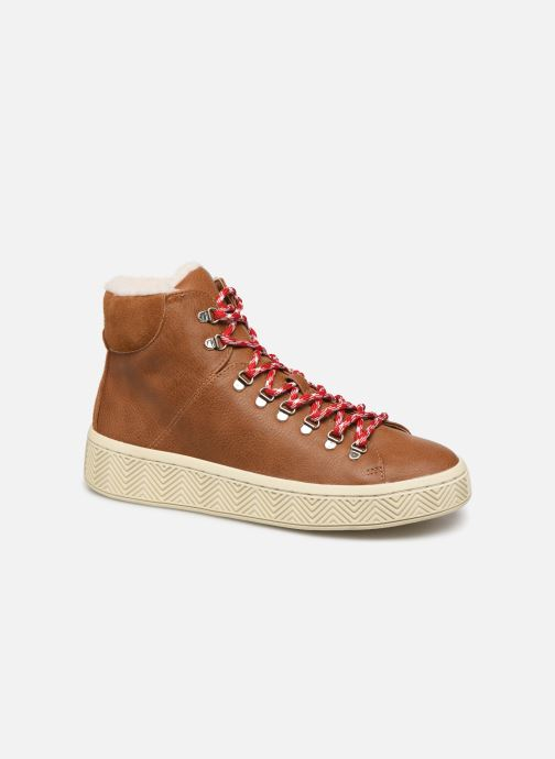 Chaussures de sport No Name Ginger Mid Soft Grain Marron vue détail/paire