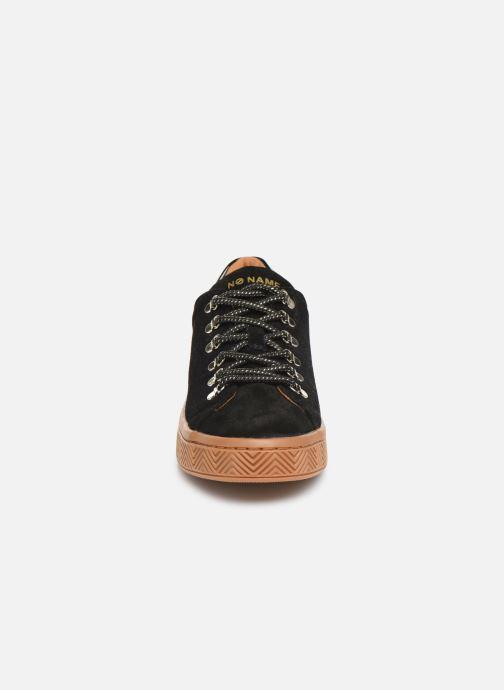 Baskets No Name Ginger Sneaker Cowsuede Noir vue portées chaussures