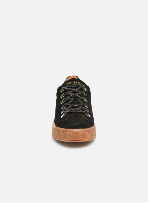 Baskets No Name Ginger Sneaker Cowsuede Noir vue portées chaussures