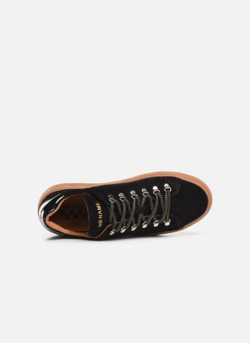 Baskets No Name Ginger Sneaker Cowsuede Noir vue gauche