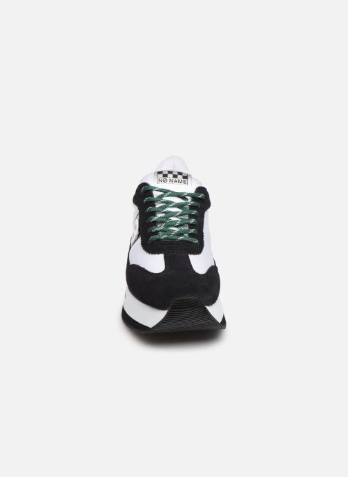 Baskets No Name Flex Jogger Cowsuede/Nylon Multicolore vue portées chaussures