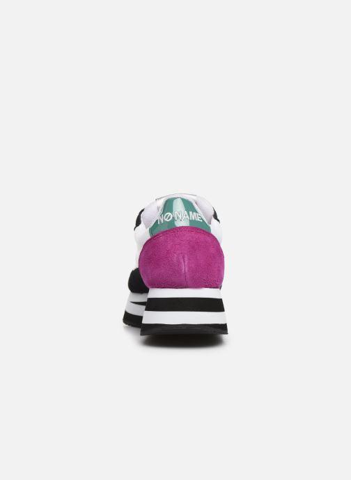 Baskets No Name Flex Jogger Cowsuede/Nylon Multicolore vue droite