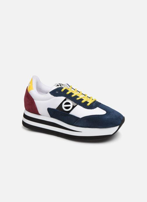 Sneakers No Name Flex Jogger Cowsuede/Nylon Multi detaljeret billede af skoene