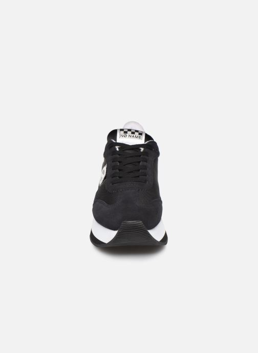 Sneakers No Name Flex Jogger Nylon/Split Zwart model