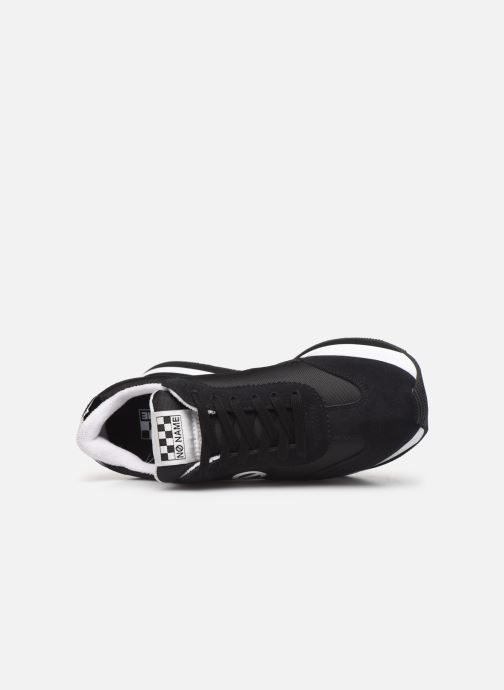 Sneakers No Name Flex Jogger Nylon/Split Zwart links
