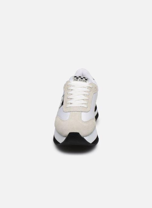 Baskets No Name Flex Jogger SUEDEJUMY Blanc vue portées chaussures