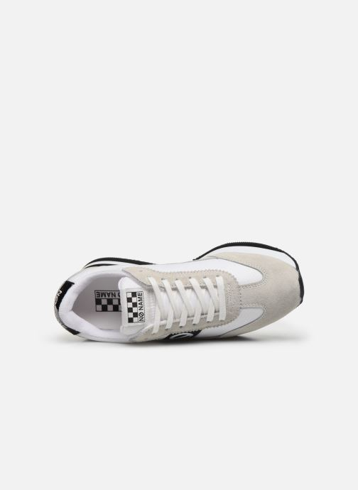 Trainers No Name Flex Jogger NylonSplit White view from the left