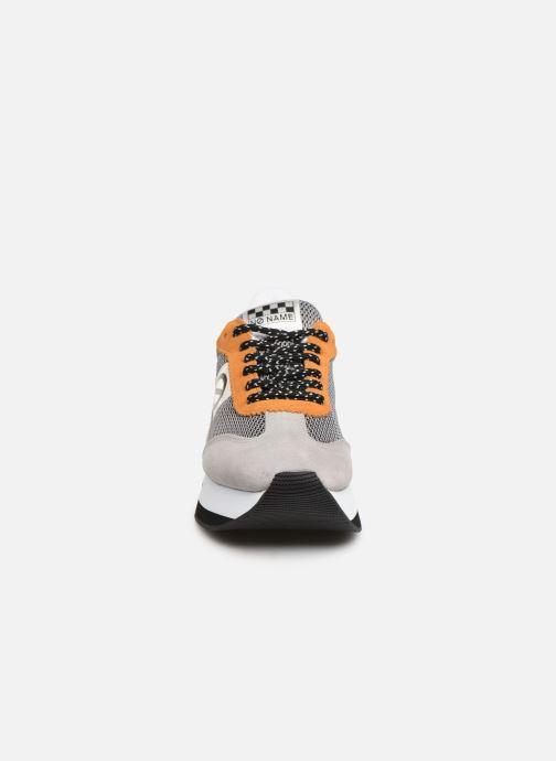 Baskets No Name Flex Jogger Cowsuede Gris vue portées chaussures