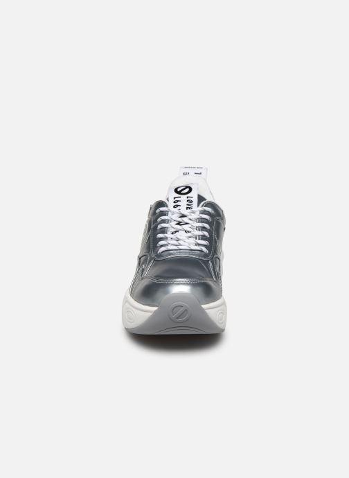 Sneakers No Name Nitro Jogger Stein Argento modello indossato