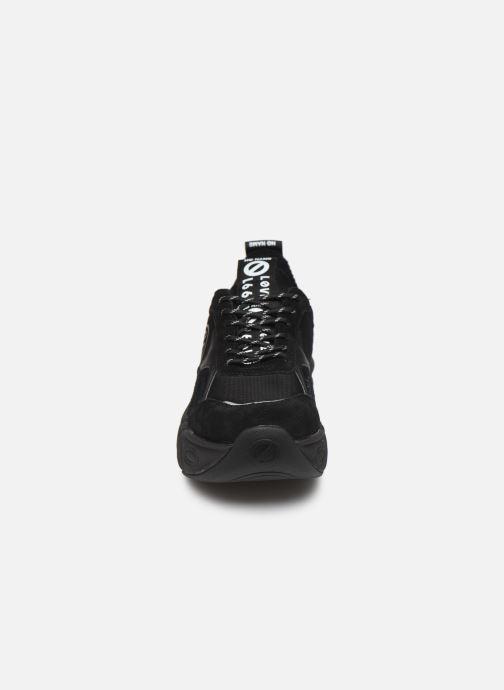 Baskets No Name Nitro Jogger Nylon/Suede Noir vue portées chaussures