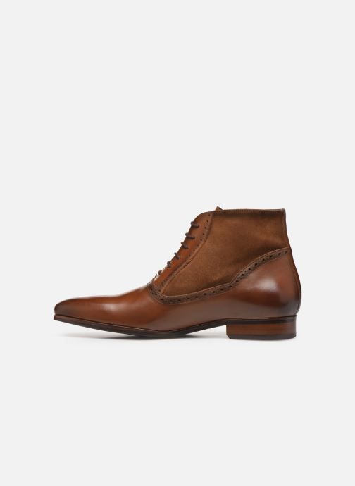 Ankle boots Brett & Sons CHUCK Brown front view