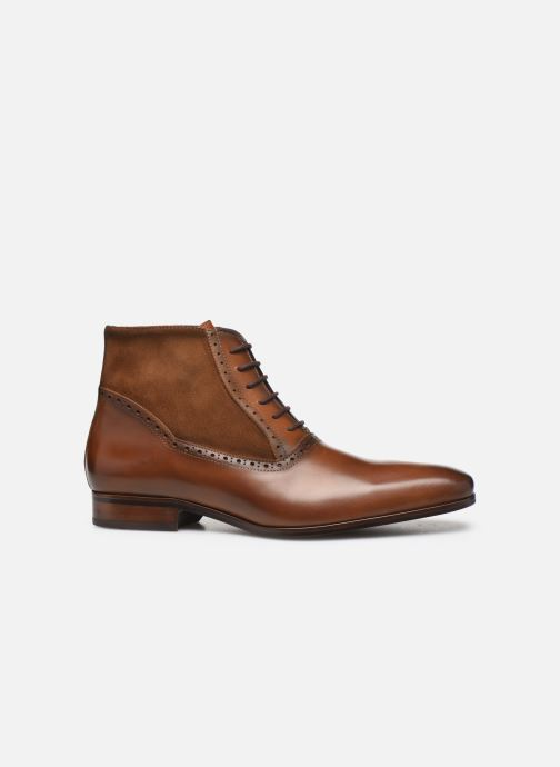 Ankle boots Brett & Sons CHUCK Brown back view
