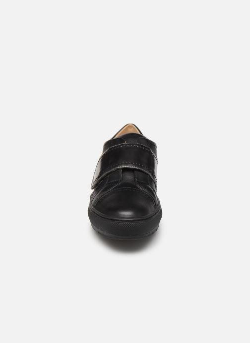 Baskets Geox D BREEDA E D822QE Noir vue portées chaussures