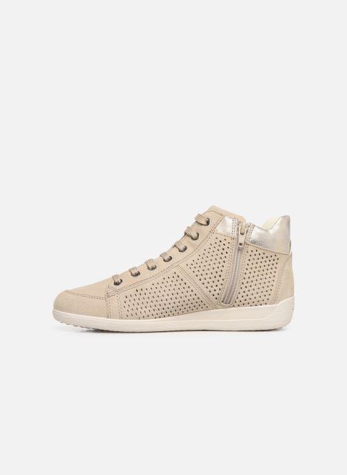 Sneakers Geox D MYRIA B D8268B Beige voorkant