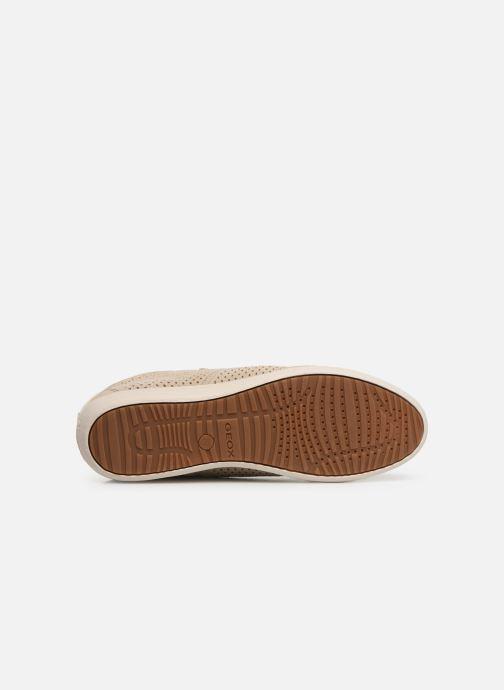 Sneakers Geox D MYRIA B D8268B Beige boven