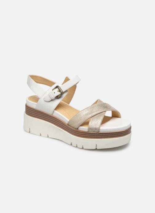 Sandales et nu-pieds Geox D RADWA C D827UC Blanc vue détail/paire