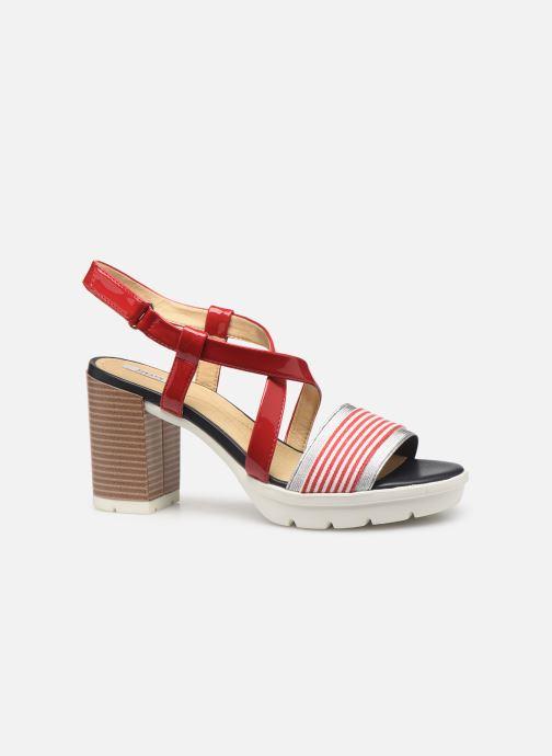 Sandales et nu-pieds Geox D GINTARE B D827VB Rouge vue derrière