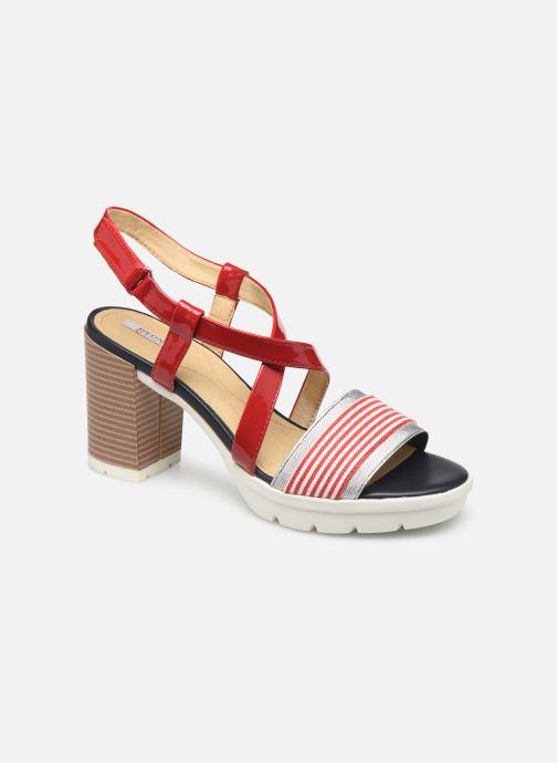 Sandali e scarpe aperte Geox D GINTARE B D827VB Rosso vedi dettaglio/paio