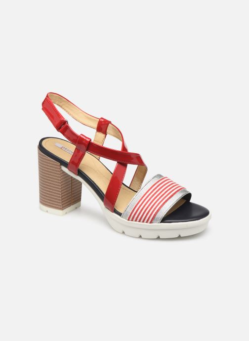 Sandales et nu-pieds Geox D GINTARE B D827VB Rouge vue détail/paire