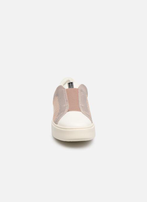 Baskets Geox D NHENBUS D D828DD Rose vue portées chaussures
