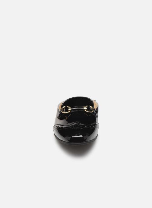 Mocassins Geox D MARLYNA E D828PE Noir vue portées chaussures