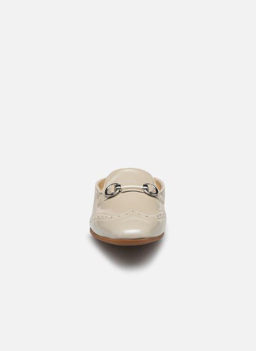Mocassins Geox D MARLYNA E D828PE Beige vue portées chaussures