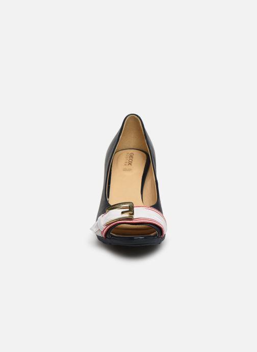 Escarpins Geox D ANNYA SPUNTATO C D828XC Bleu vue portées chaussures