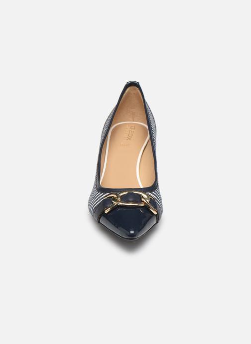 Escarpins Geox D BIBBIANA D D829CD Bleu vue portées chaussures