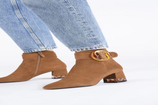Bottines et boots Bruno Premi BY1601X Marron vue bas / vue portée sac