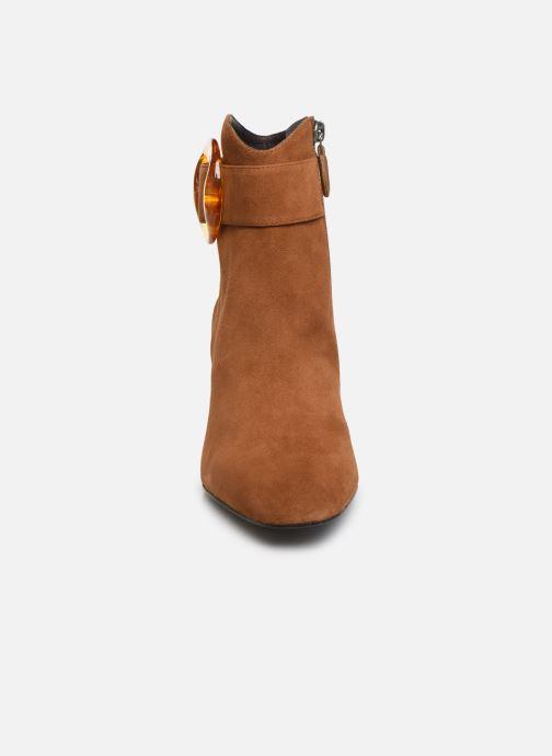 Bottines et boots Bruno Premi BY1601X Marron vue portées chaussures