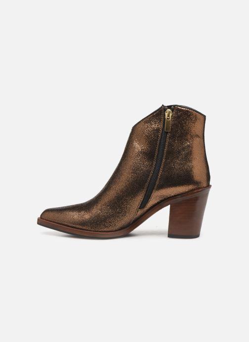 Bottines et boots Bruno Premi BY6604X Or et bronze vue face