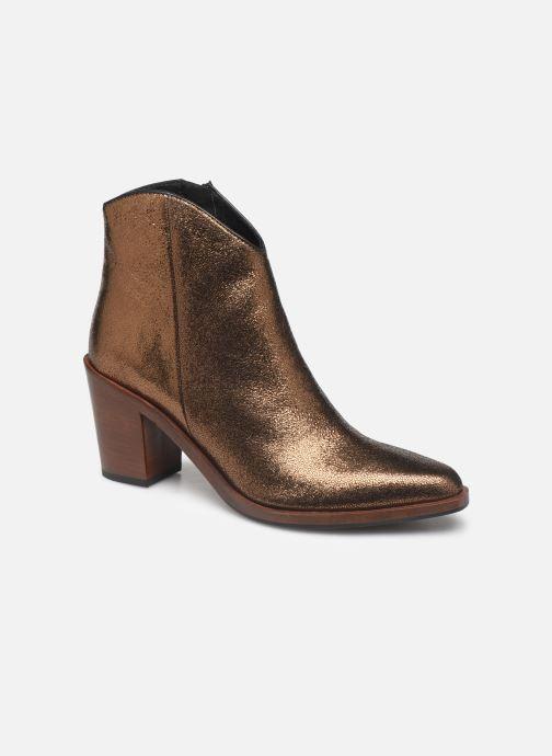 Bottines et boots Bruno Premi BY6604X Or et bronze vue détail/paire