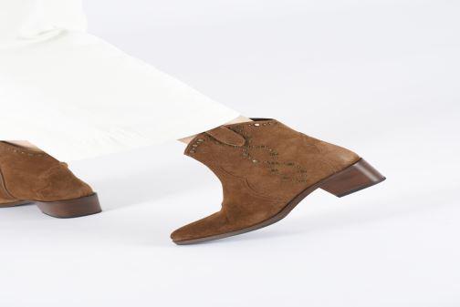 Bottines et boots Bruno Premi BY6202X Marron vue bas / vue portée sac