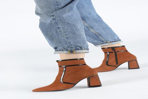 Bottines et boots Bruno Premi BY3105X Orange vue bas / vue portée sac