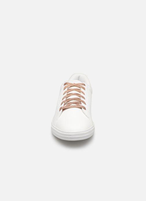 Baskets Le Coq Sportif Agate Boutique Premium Blanc vue portées chaussures