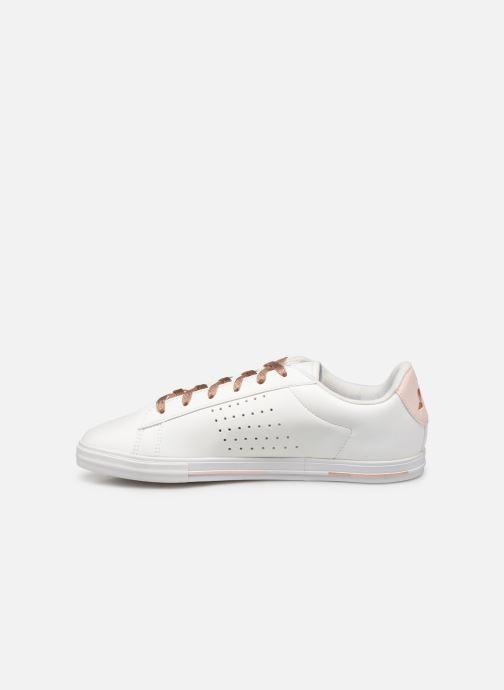 Baskets Le Coq Sportif Agate Boutique Premium Blanc vue face