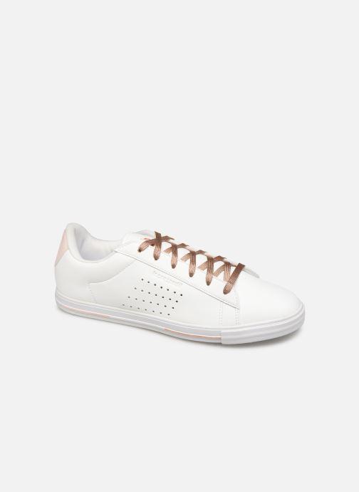 Baskets Le Coq Sportif Agate Boutique Premium Blanc vue détail/paire