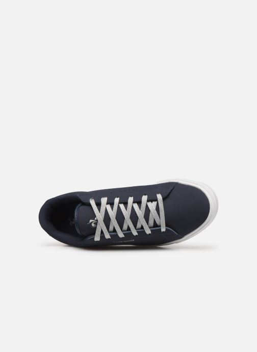 Trainers Le Coq Sportif Agate Boutique Nubuck Blue view from the left