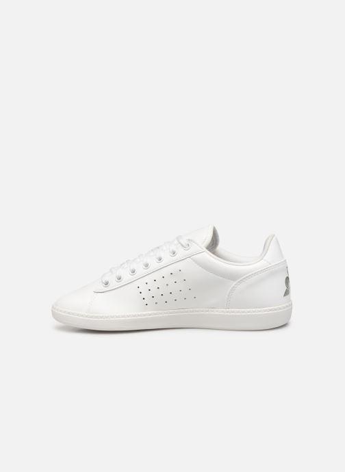 Sneaker Le Coq Sportif Courtstar W Premium weiß ansicht von vorne