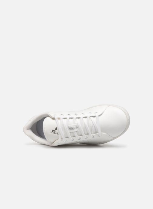 Baskets Le Coq Sportif Courtstar W Premium Blanc vue gauche