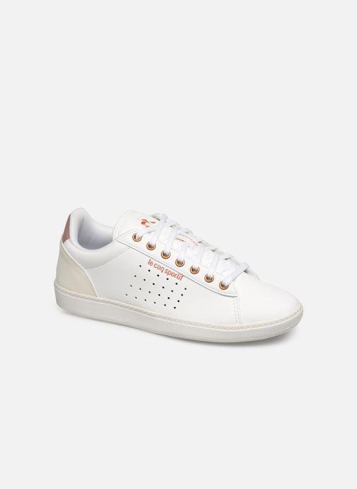 Sneakers Le Coq Sportif Courtstar W Boutique Hvid detaljeret billede af skoene