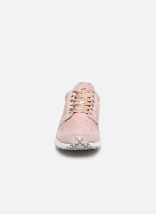 Baskets Le Coq Sportif Jazy W Boutique Rose vue portées chaussures